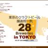 東京は地ビール醸造天国? 都道府県別のブルワリー数と2016年クラフトビール地図