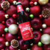 サンクトガーレン、焼りんごビール「アップルシナモンエール」のクリスマスラベルをデ